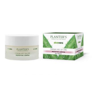 Aloe Vera zaščitna in blažilna krema za obraz, 50 ml (7804)